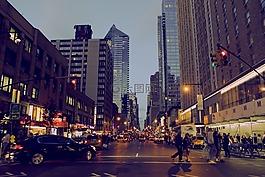 纽约,城市,颜色