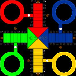 骰子游戏,游戏,游戏板