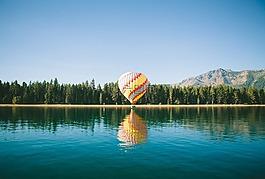 热气球,气球飞行,气球