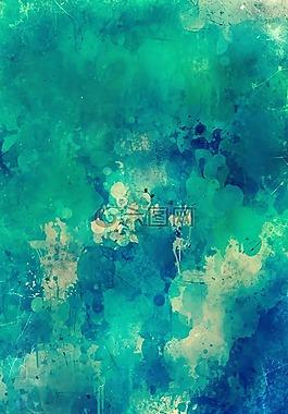 背景,水彩,畫