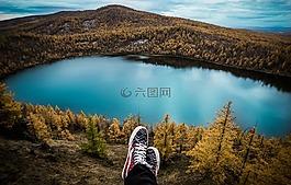 旅行,阿爾山,鞋