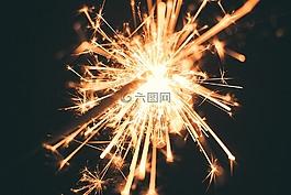 香檳酒,焰火,慶典