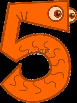 計數,五,數學