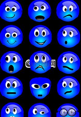 圖釋,表情符號,設置