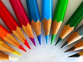 彩色铅笔,颜色,漆