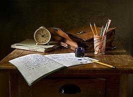 靜物,學校,復古