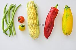 豆類,玉米,新鮮