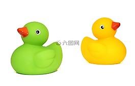 鴨子,玩具,鴨
