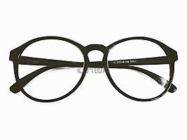 眼镜,玻璃眼镜,圆形眼镜