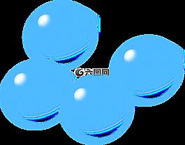 氣泡,肥皂泡,藍色