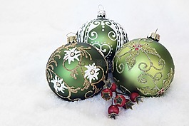 圣诞摆设,来临,圣诞节
