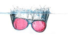 眼镜,水,喷雾