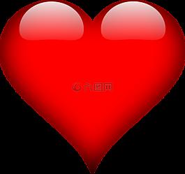 心,愛,紅色
