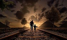 父親和兒子,幸福,愛情