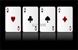 卡,游戏,ace