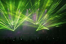 激光灯,音乐会,音乐
