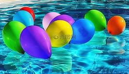 气球,丰富多彩,颜色