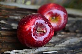 蘋果,紅蘋果,水果