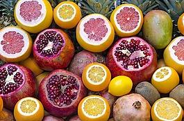 水果,茶點,新鮮