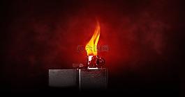 打火機,火焰,燒傷