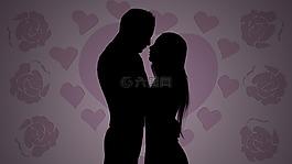 愛,心,吻