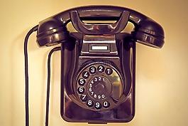 電話,老,電話聽筒