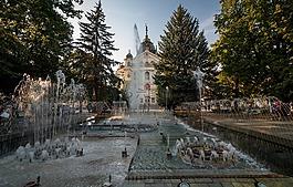 科希策,斯洛伐克,科希策,喷泉