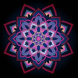 曼陀羅,圓形圖案,圓形裝飾品