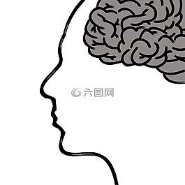 头,大脑,思想