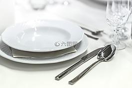 婚宴,宴會,餐具