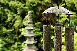风水,石灯笼,灯笼