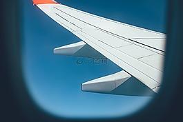 飞机,飞机机翼,飞行