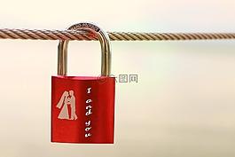 安全鎖,符號,愛情