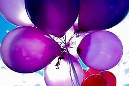 球,气球,生日