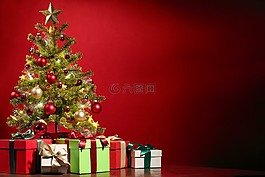 圣诞节,圣诞树,装饰
