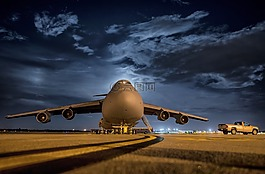 飞机,喷射,空军基地
