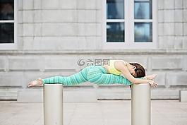 瑜伽,健身,幸福