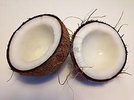 椰子,食品,美食