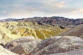 山,颜色,砂岩