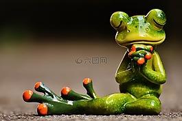 青蛙,祈禱,和諧