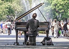曼哈顿,音乐会,独奏