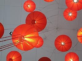 lampions,中国的灯笼,日本灯笼
