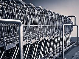 购物车,购物,超市