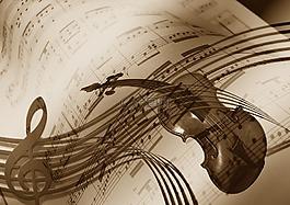 音乐,小提琴,高音谱号