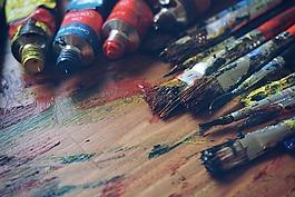 藝術,美術用品,藝術家