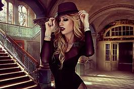魅力,样式,帽子