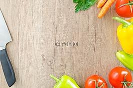 表,木材,新鮮