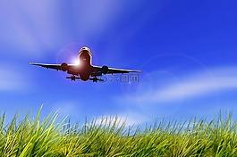 飞机,飞行,天空