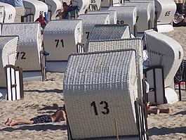 沙灘椅,沙灘,假期