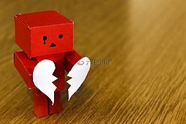 爱,心,破碎
